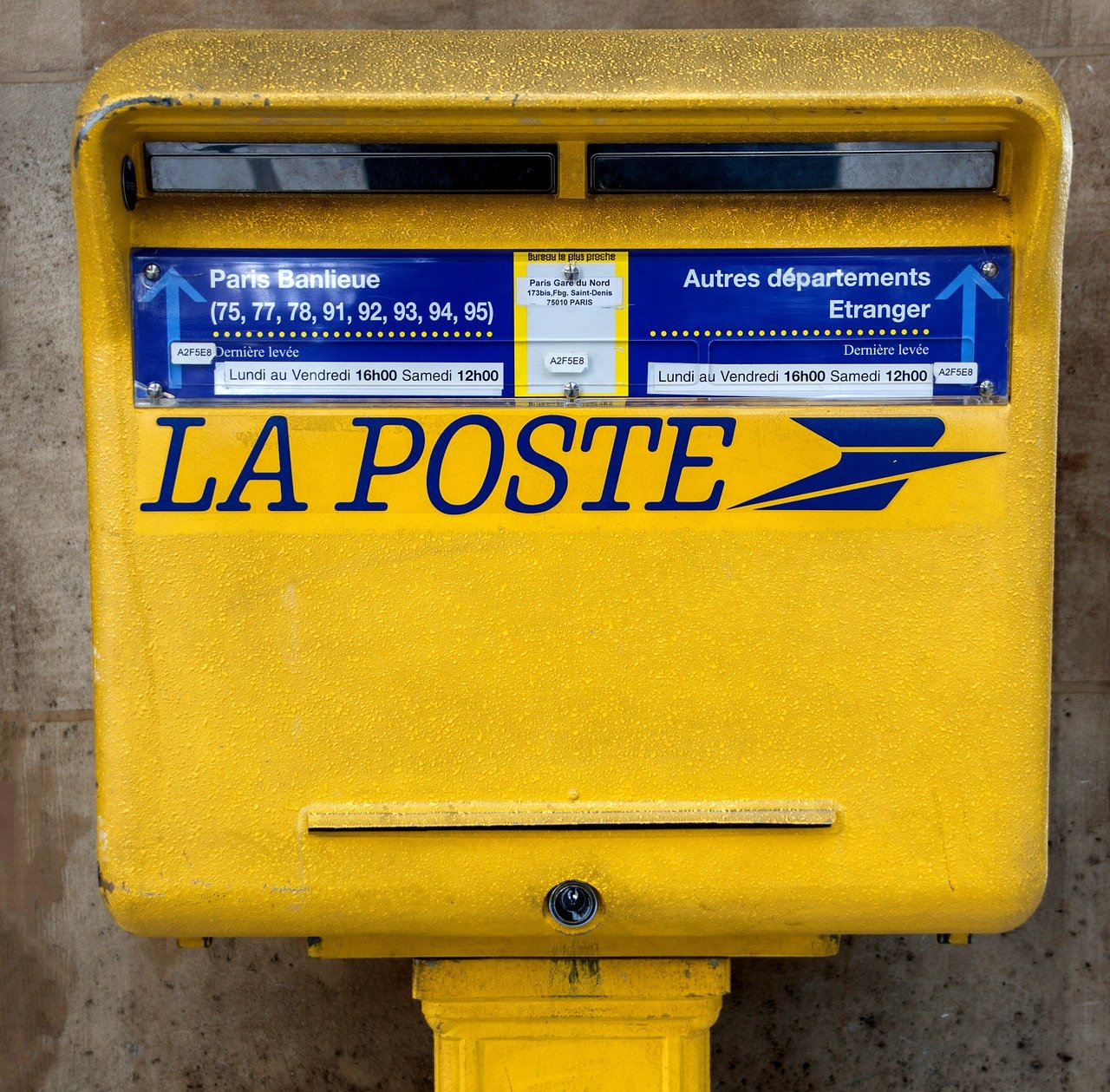 la poste : service email